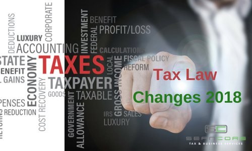 tax law changes 2018