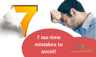 common tax-time mistakes