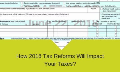 2018 Tax Reforms Impact