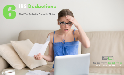 6 IRS Deductions